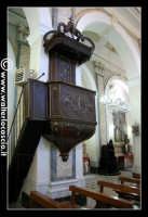 Troina: Cattedrale Maria Santissima Assunta  (1065 - 1078 ): Interno: Pulpito ligneo del 1700.   - Troina (2633 clic)
