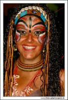 Agira, Agosto 2005. Carnevale Estivo 2005. Ragazza in maschera #2  - Agira (2607 clic)