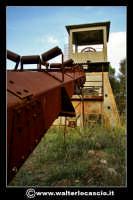 Caltanissetta: Reportage fotografico sulle miniere di Caltanissetta. Miniera Gessolungo. CALTANISSET