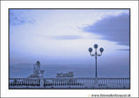 Enna: Mattinata d'inverno al Belvedere.  - Enna (5819 clic)