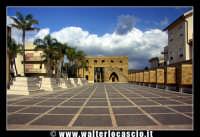 Gibellina: Piazza dei fasci dei lavoratori di Gibellina.  - Gibellina (3452 clic)