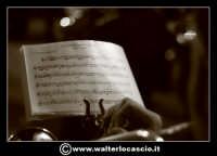 Pietraperzia. Venerdi' Santo 21-03-2008. U Signuri di li fasci.  Spartito musicale. PIETRAPERZIA Wal