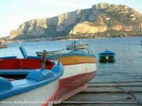 Barche dei pescatori in sosta.  - Mondello (2934 clic)