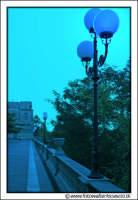 Enna: Belvedere. Lampioni all'alba.  - Enna (3751 clic)
