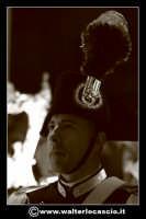 Pietraperzia. Venerdi' Santo 21-03-2008. U Signuri di li fasci.  Carabiniere in alta uniforme. Foto Walter Lo Cascio www.walterlocascio.it   - Pietraperzia (1573 clic)