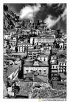 Nicosia: Panorama del Paese. #5 B&W   - Nicosia (3086 clic)