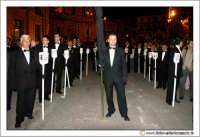 Caltanissetta: Settimana Santa. Giovedì Santo. Processione delle Maestranze. Unione Muratori. CALTAN