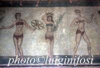 mosaici presso la Villa del Casale  - Piazza armerina (3583 clic)