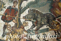 mosaici presso la Villa del Casale  - Piazza armerina (3165 clic)