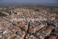 veduta aerea del centro storico  - Militello in val di catania (4051 clic)