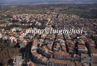 veduta aerea della città  - Militello in val di catania (3852 clic)