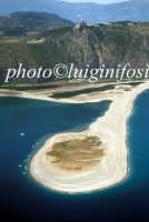 vista aerea della spiaggia e dei laghi di marinello  - Tindari (31952 clic)