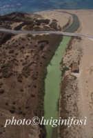 veduta aerea della foce del fiume ippari  - Camarina (7429 clic)