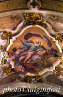 chiesa di santa maria maggiore - particolare della volta  - Ispica (3929 clic)