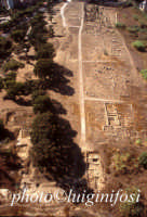 veduta aerea dell'acropoli greca  - Gela (8524 clic)