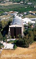veduta aerea dell'hangar del generale Nobile  - Augusta (7900 clic)