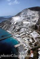 veduta aerea delle cave di pietra pomice  - Lipari (20120 clic)