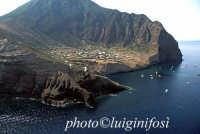 veduta aerea dell'isola  - Salina (9607 clic)