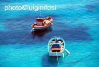 barche alla cala  - Levanzo (3784 clic)
