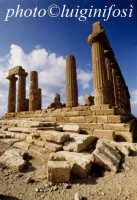 tempio di giunone  - Agrigento (1840 clic)