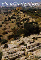 valle dei templi e tempio della concordia  - Agrigento (1915 clic)