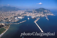 veduta aerea del porto di palermo  - Palermo (7102 clic)