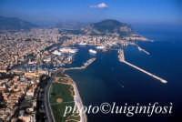 veduta aerea del porto di palermo PALERMO Luigi Nifosì
