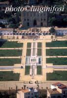 veduta aerea della zisa, in primo piano i giardini   - Palermo (3316 clic)