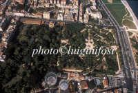 veduta aerea dell'orto botanico di palermo PALERMO Luigi Nifosì