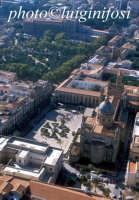 veduta aerea della cattedrale e di palazzo dei normanni  - Palermo (3245 clic)