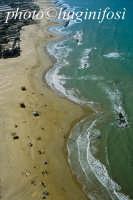 la spiaggia di micenci in una veduta aerea  - Donnalucata (8638 clic)