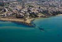 veduta aerea delle spiaggetta di bruca  - Cava d'aliga (22160 clic)