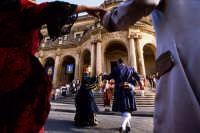 scena dall'infiorata 2008  - Noto (1459 clic)