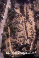 il tempio di ercole visto dall'alto  - Agrigento (2979 clic)