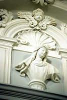 stucchi all'interno della della chiesa di san francesco saverio MODICA Luigi Nifosì