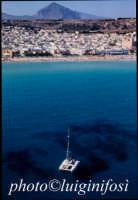 la spiaggia di san vito lo capo vista dall'alto e dal mare  - San vito lo capo (2661 clic)