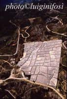 vista aerea del cretto di Burri il cretto di Burri  - Gibellina (6901 clic)