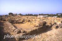 il quartiere ellenistico -romano  - Agrigento (4163 clic)