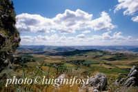 paesaggio dal castello di mussomeli  - Mussomeli (3460 clic)