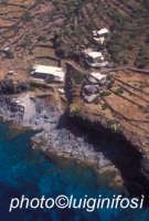 dammusi e costa visti dall'alto  - Pantelleria (2802 clic)