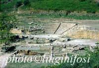 scavi e resti del teatro di Morgantina  - Morgantina (4162 clic)