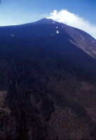 sorvolando la valle del bove  - Etna (3510 clic)