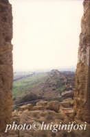 il tempio di giunone e la valle  - Agrigento (2211 clic)