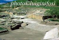 scavi e resti del teatro di Morgantina - l'agorà di morgantina  - Morgantina (4335 clic)