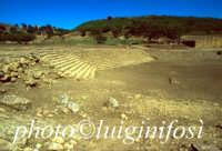 scavi e resti del teatro di Morgantina - l'agorà di morgantina  - Morgantina (3837 clic)