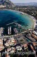 la piazza di mondello in una veduta aerea  - Mondello (9060 clic)
