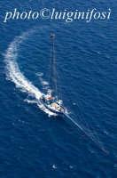 veduta aerea di una spadara nello stretto di messina  - Messina (4817 clic)