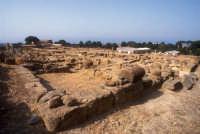 il quartiere ellenistico  - Agrigento (2570 clic)