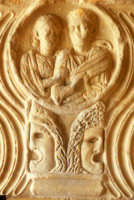 particolare sepolcro  - Agrigento (2375 clic)