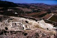l'area archeologica di segesta vista dall'alto  - Segesta (4895 clic)